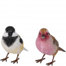 Polyresin Bird Nature large, 2 colors, L11cm, B7cm